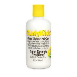 après shampooing super démêlant curlykids