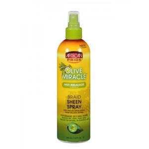 Braid sheen spray anti breakage