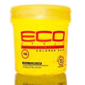 Gel pour cheveux colorés eco styler