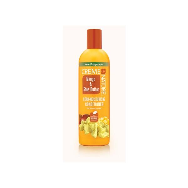 Après shampooing au beurre de karité et mangue creme of nature
