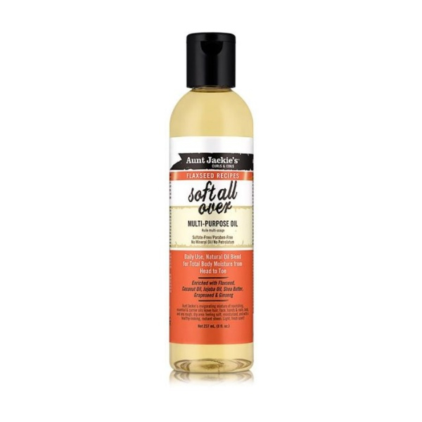 aunt jackie's soft all over huile multi-usage