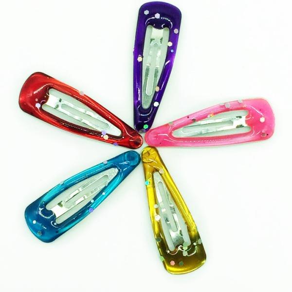 Barrettes multicolores