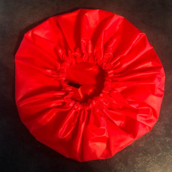 bonnet de douche rouge kalavy