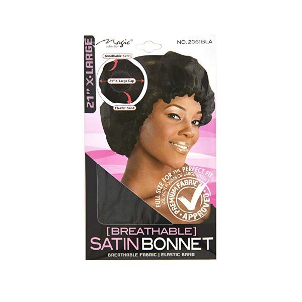 Bonnet en satin aéré Magic Collection