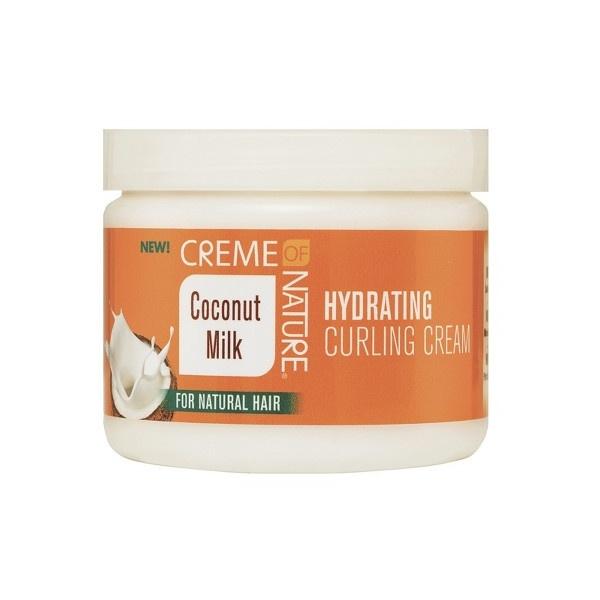 crème hydratante cheveux bouclés creme of nature