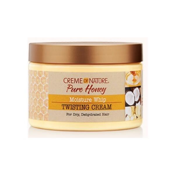 crème hydratante cheveux bouclés pure honey creme of nature