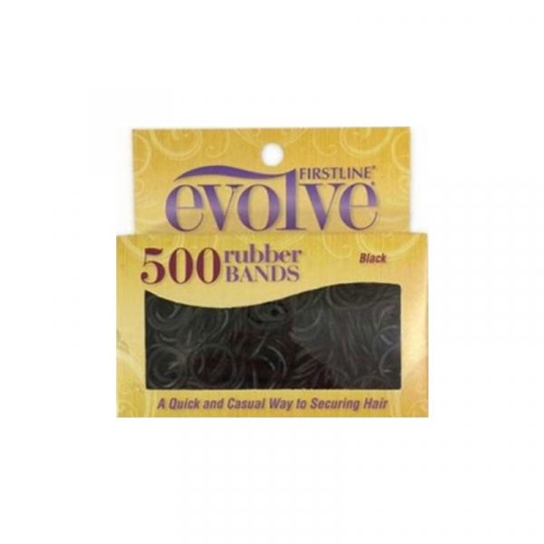 élastique noir evolve 500 pcs