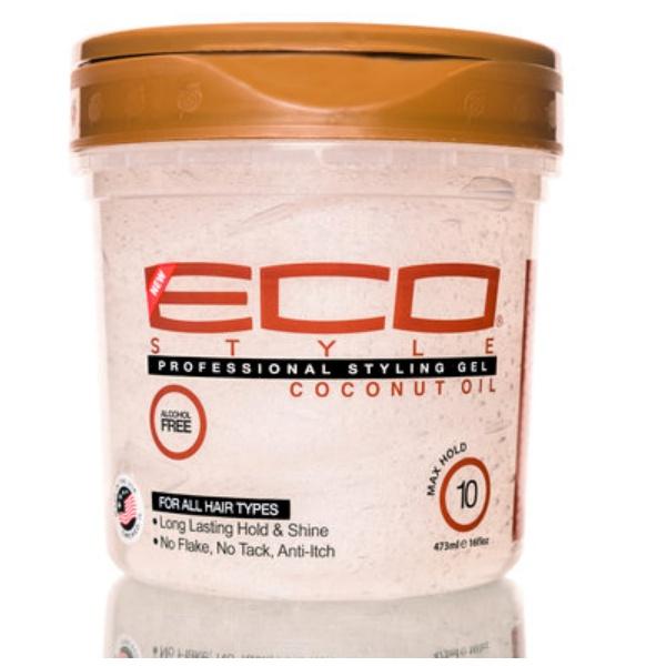 Gel à l'huile de coco eco styler