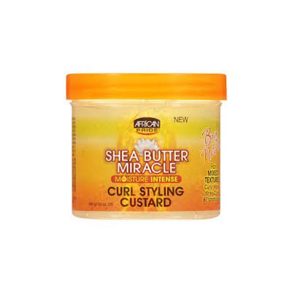 gel pour cheveux bouclés curl styling custard african pride