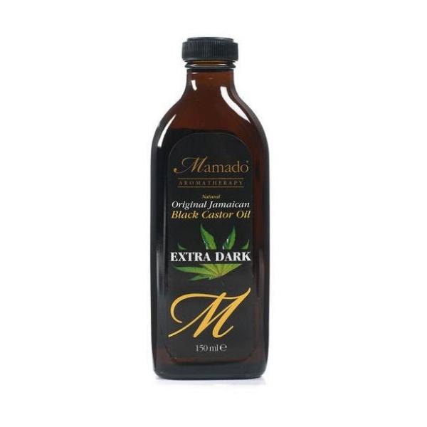 Huile de ricin extra noir mamado aromatherapy