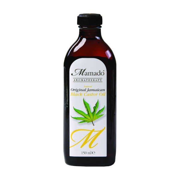 huile de ricin noir mamado aromathérapy