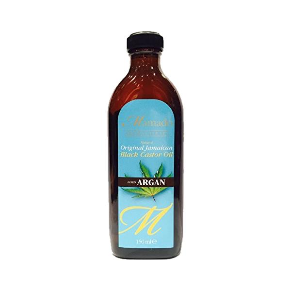 huile de ricin noire avec Argan