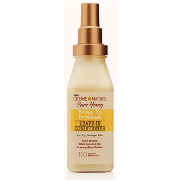 leave-in sans rincage pure honey creme of nature