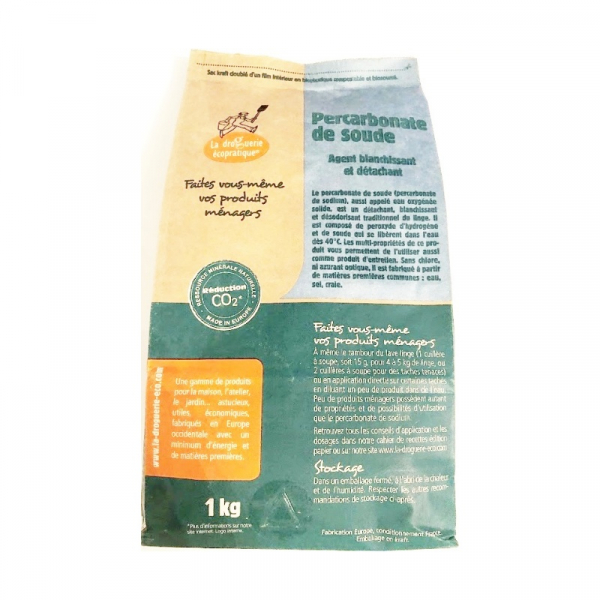 percarbonate de soude la droguerie écopratique 1 kg