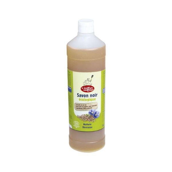 savon noir à l'huile de lin bio 1l la droguerie écologique