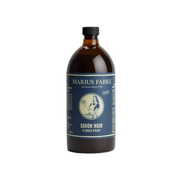 savon noir liquide olive marius fabre 1l