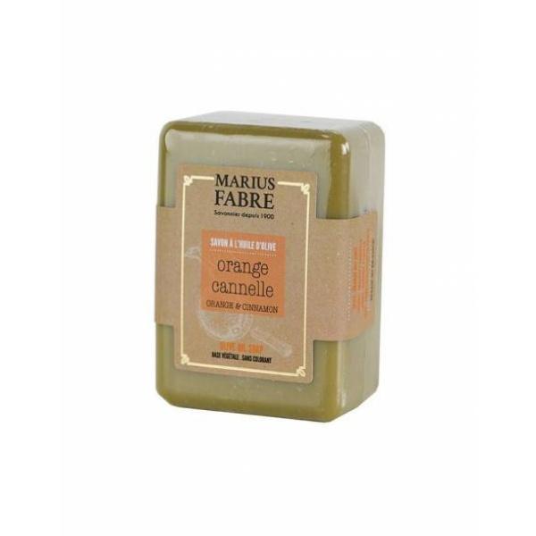savonnette orange cannelle marius fabre