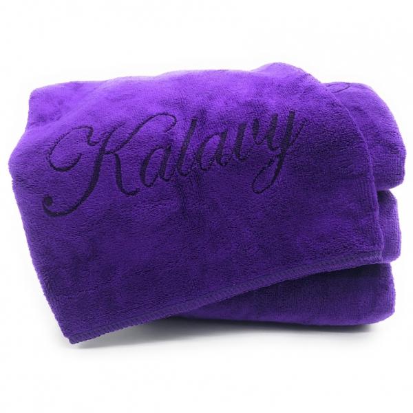 serviette violet kalavy