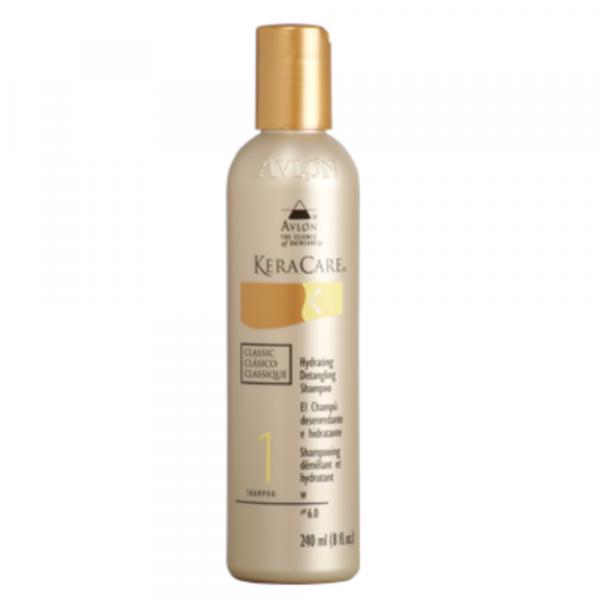 shampooing démêlant et hydratant kera care