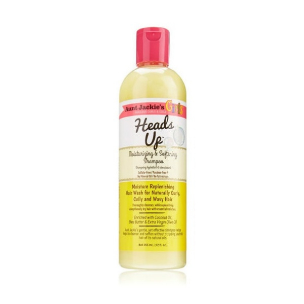 shampooing hydratant heads up Aunt jackie's