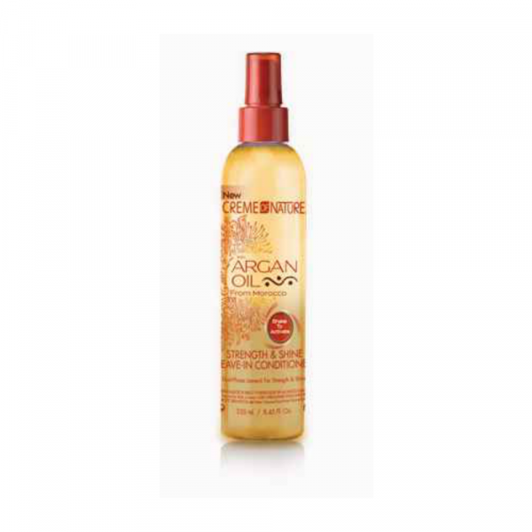 Strength & shine leave-in conditioner crème of nature