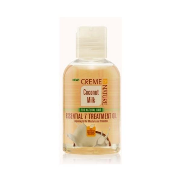 traitement aux 7 huiles essentielles creme of nature