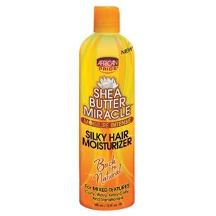 Silky hair moisturizer