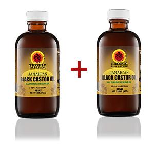 Black Castor Oil X 2
