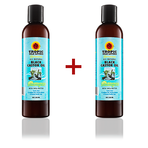 Shampooing Black Castor Oil X 2